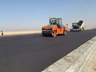 شركة دايو الكورية تستمر بأعمال إنشاء الطرق الداخلية لميناء الفاو الكبير