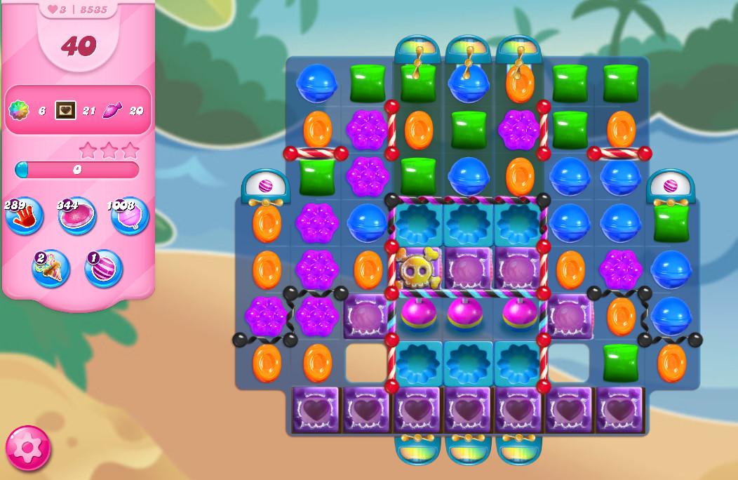 Candy Crush Saga level 8535