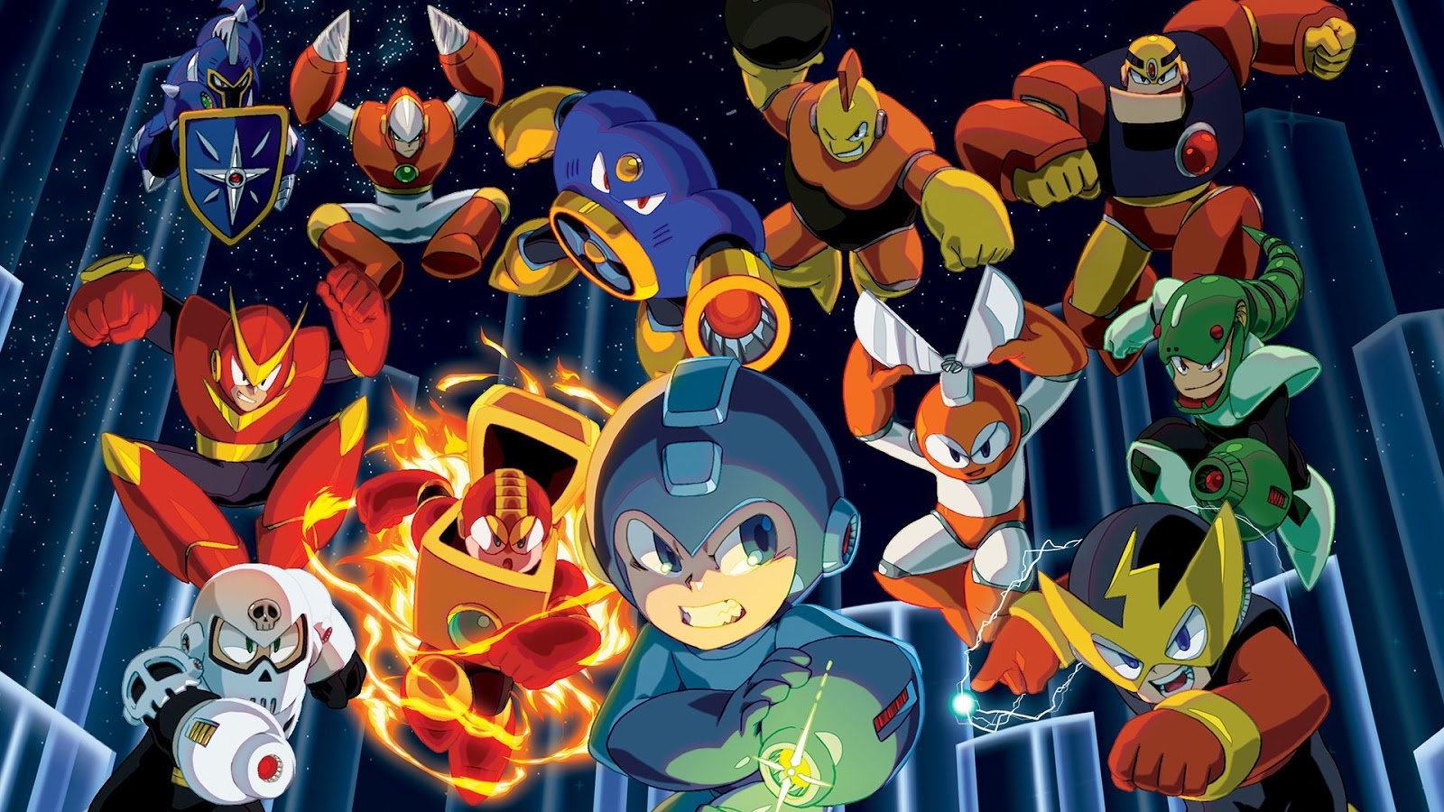 Mega Man Legacy Collection 1 e 2 (Multi) serão lançados para Switch