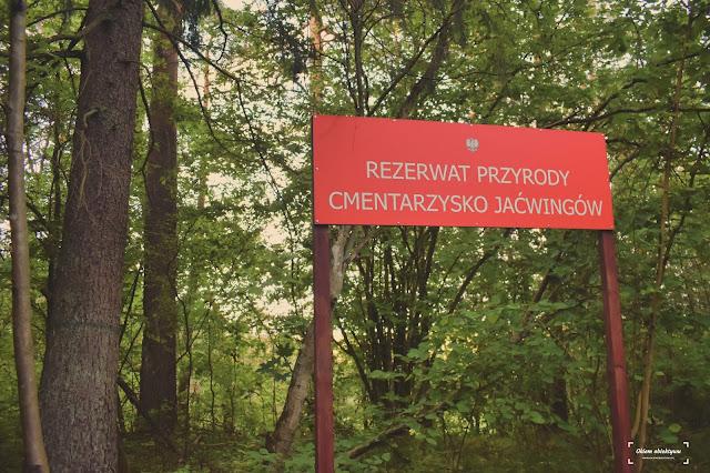 Cmentarzysko Jaćwingów - Szwajcaria koło Suwałk