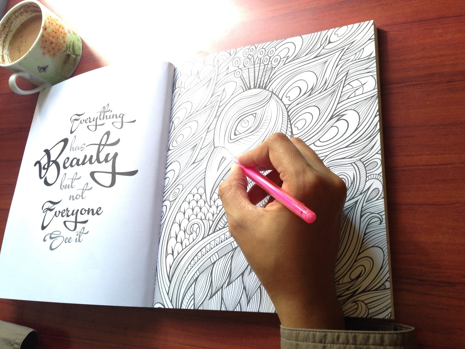 Coloring For Adults My Own World