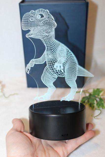 dinosaure lumineux