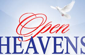 Open Heaven for Today 26 December 2019 – Peace Like a River