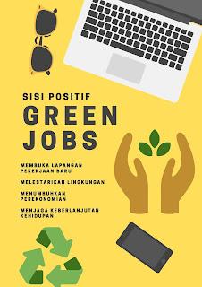 sisi positif green jobs untuk milenial