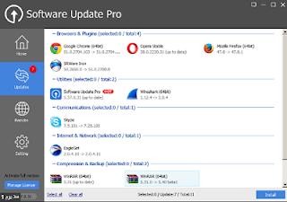 تحميل GLARYSOFT SOFTWARE UPDATE PRO مجاني لإعلامك عن  تحديثات البرامج التي يمكن الحصول عليها لجهازك