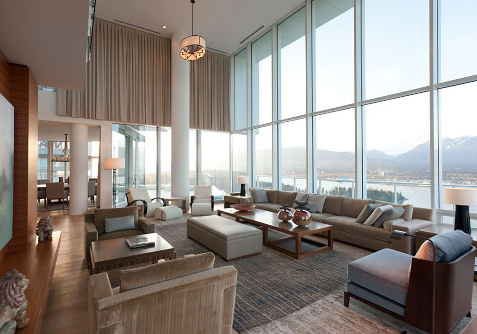 Beautiful Penthouse Interior design