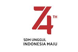 Download Logo HUT RI 74 Tahun Vector CorelDraw CDR
