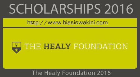 Healy Foundation Scholarship 2016
