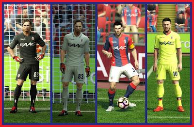 PES 2013 GDB BOLOGNA FC 1909 2016/17 by dodyferro & auvergne81