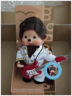 Monchhichi Elvis Presley - Sekiguchi - limited edition kiki toys vintage