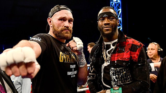 'Stop being jealous of me, stop worrying about how much I win' -Tyson Fury tells Deontay Wilder