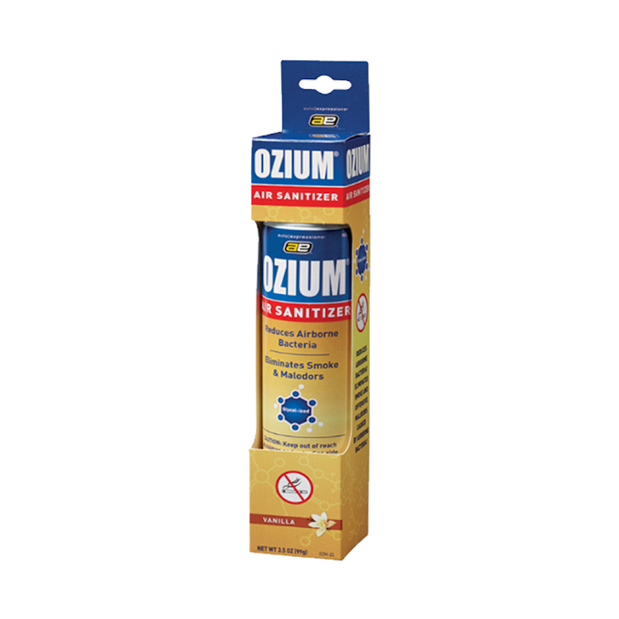 Bình xịt khử mùi Ozium Air Sanitizer Spray 3.5 - Vanilla 100ml