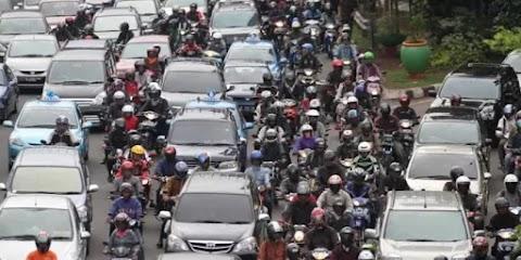 Sore di Jakarta