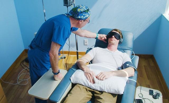 ketamine infusion military veterans ptsd