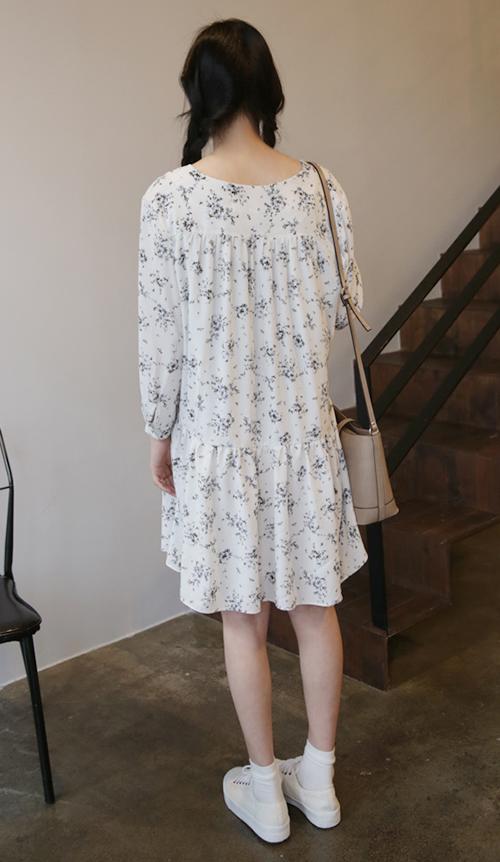 Vintage Dropped Waist Dress