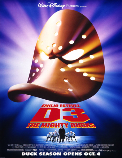 Ver Los campeones 3 (The Mighty Ducks 3) (1996) Online