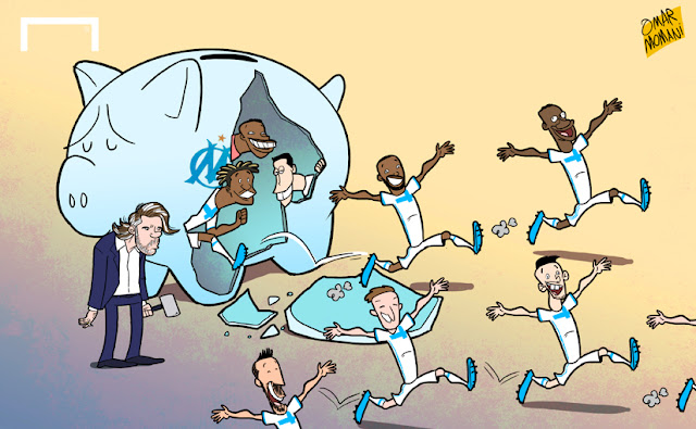 Vincent Labrune selling Marseille players
