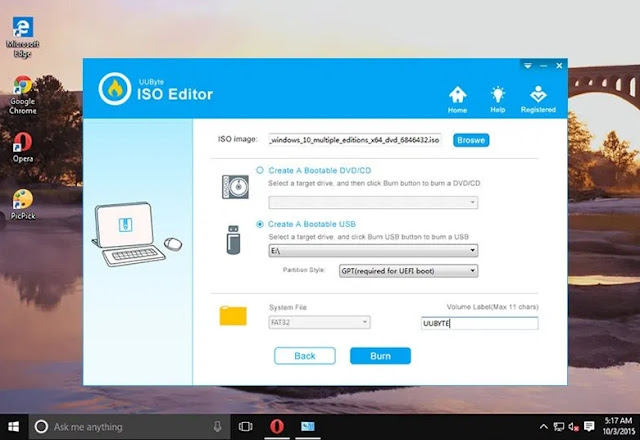 Create Bootable USB for Windows ISO
