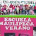 """Terminó exitosamente la """"Escuela Tamaulipeca de Verano"""" en la primaria José Ma. Morelos"""