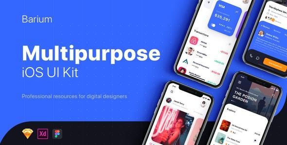 Multipurpose Card-based UI Kit