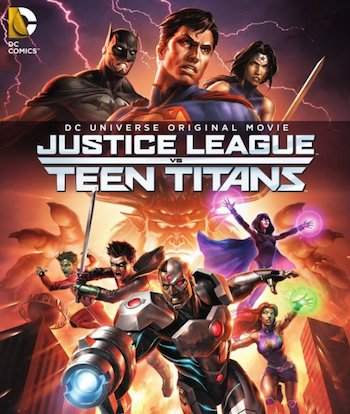 Justice League vs Teen Titans 2016 English Movie Download