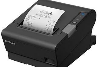 Printer EPSON TM-T88VI USB, Ethernet Dan Serial