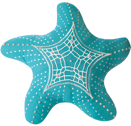Cozy Up with Sea Life Shaped Pillows -Sand Dollar ...
