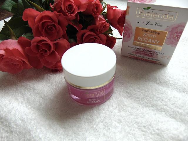 Rose Care - Różany krem nawilżająco kojący i Różany olejek do mycia twarzy od BIELENDA