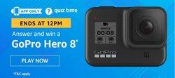Amazon Quiz 13 December 2019 Answer Win - GoPro Hero 8