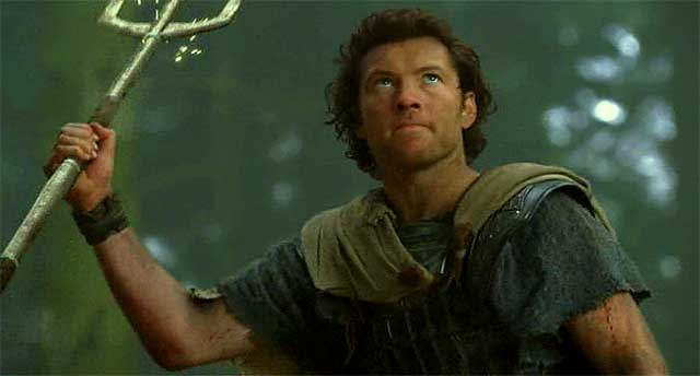 Sam Worthington con tridente