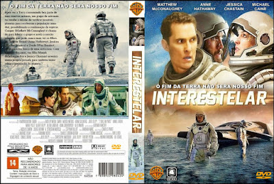 Filme Interestelar (Interstellar) DVD Capa