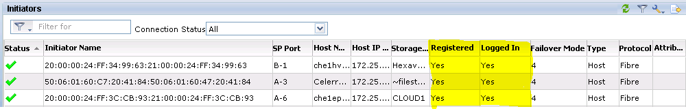 How to register host initiators in the VNX | How to add Initiators