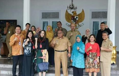 Gagas event Sukabumi International Aura Kasih bawa team temui Bupati Sukabumi