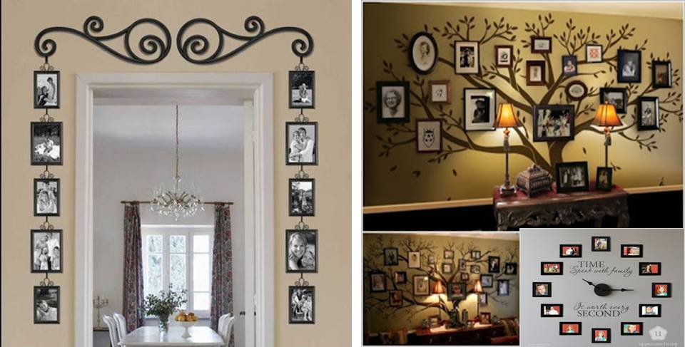 6 Ideas On How To Display Your Home Accessories: Creative Ideas To Display Family Photos