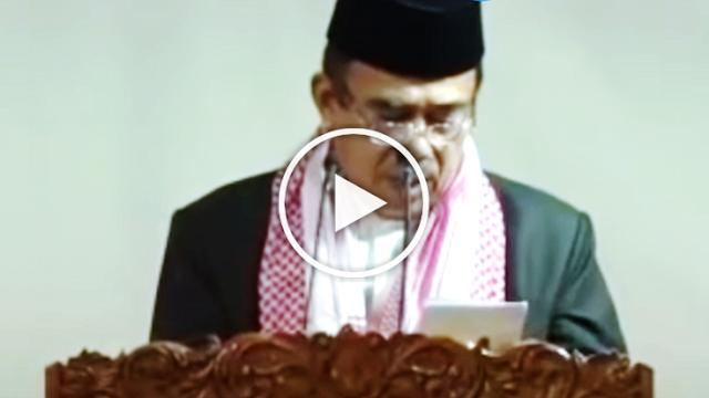 Warganet Komentari Kualitas Bacaan Qur'an Menag Saat Khutbah, Kayak Gini Lolos Sertifikasi Nggak?