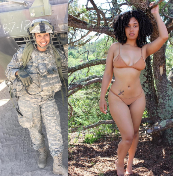 world's sexiest beautiful female soldier