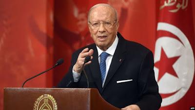 وفاة الرئيس التونسي محمد الباجي قايد السبسي بالمتشفى العسكري