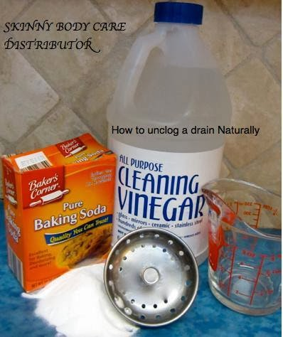 This is how we Mommy: How to unclog a drain Naturally