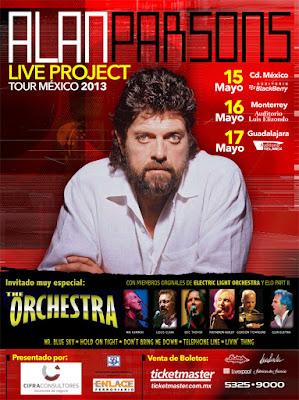 Concierto de Alan Parsons 17 de Mayo 2013