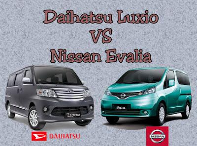 Daihatsu Luxio vs Nissan Evalia