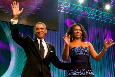 Spotify lands deal with  Barack and Michelle Obama