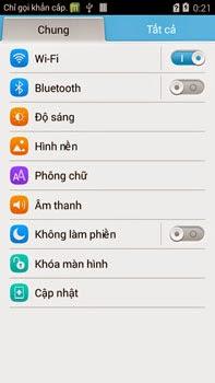 Tiếng Việt Huawei alt