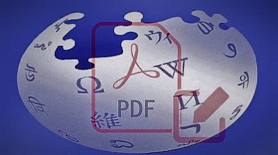 انشاء كتاب الكتروني PDF للمقالات من موقع ويكيبيديا