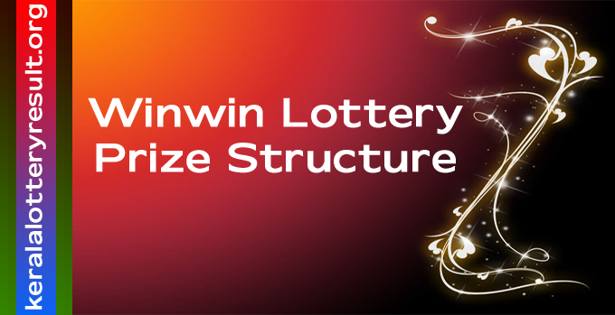 Prize Structure of Winwin Weekly Lottery 2021