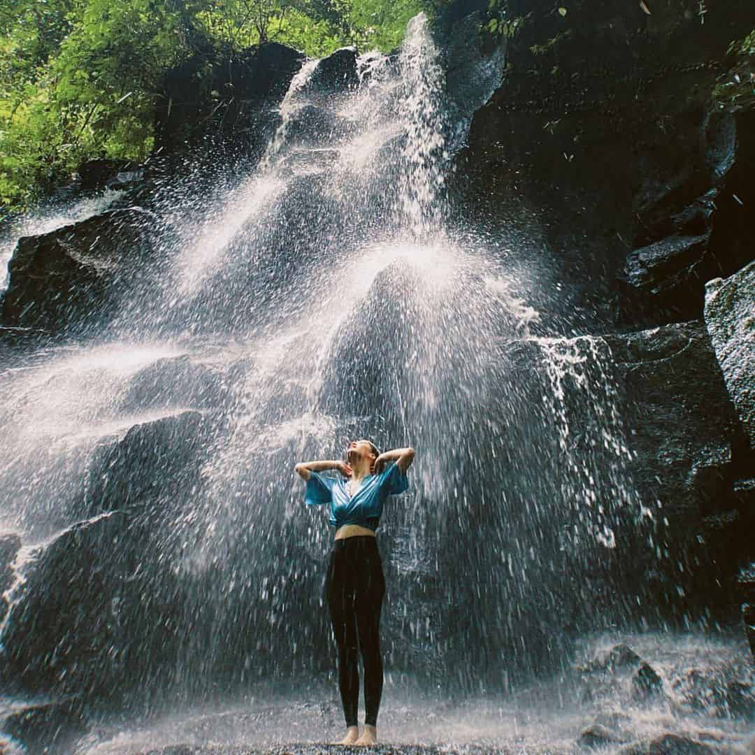 Air Terjun Kanto Lampo, Air Terjun Indah di Dataran Rendah Pulau Dewata