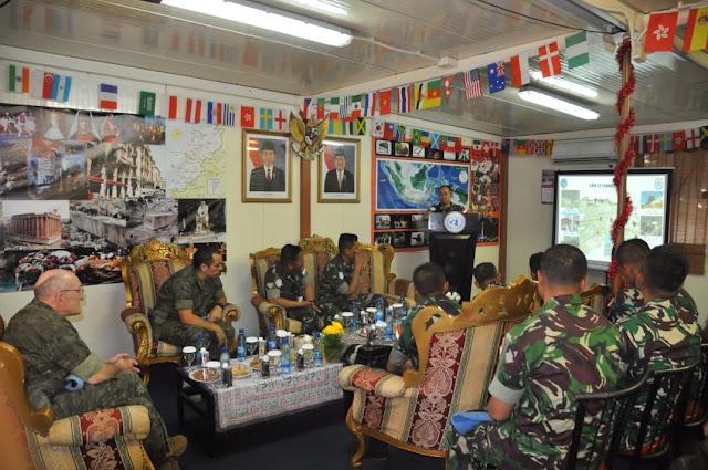 Komandan Sektor Timur Unifil Sebut Satgas Indobatt Sebagai Tentara Sejati