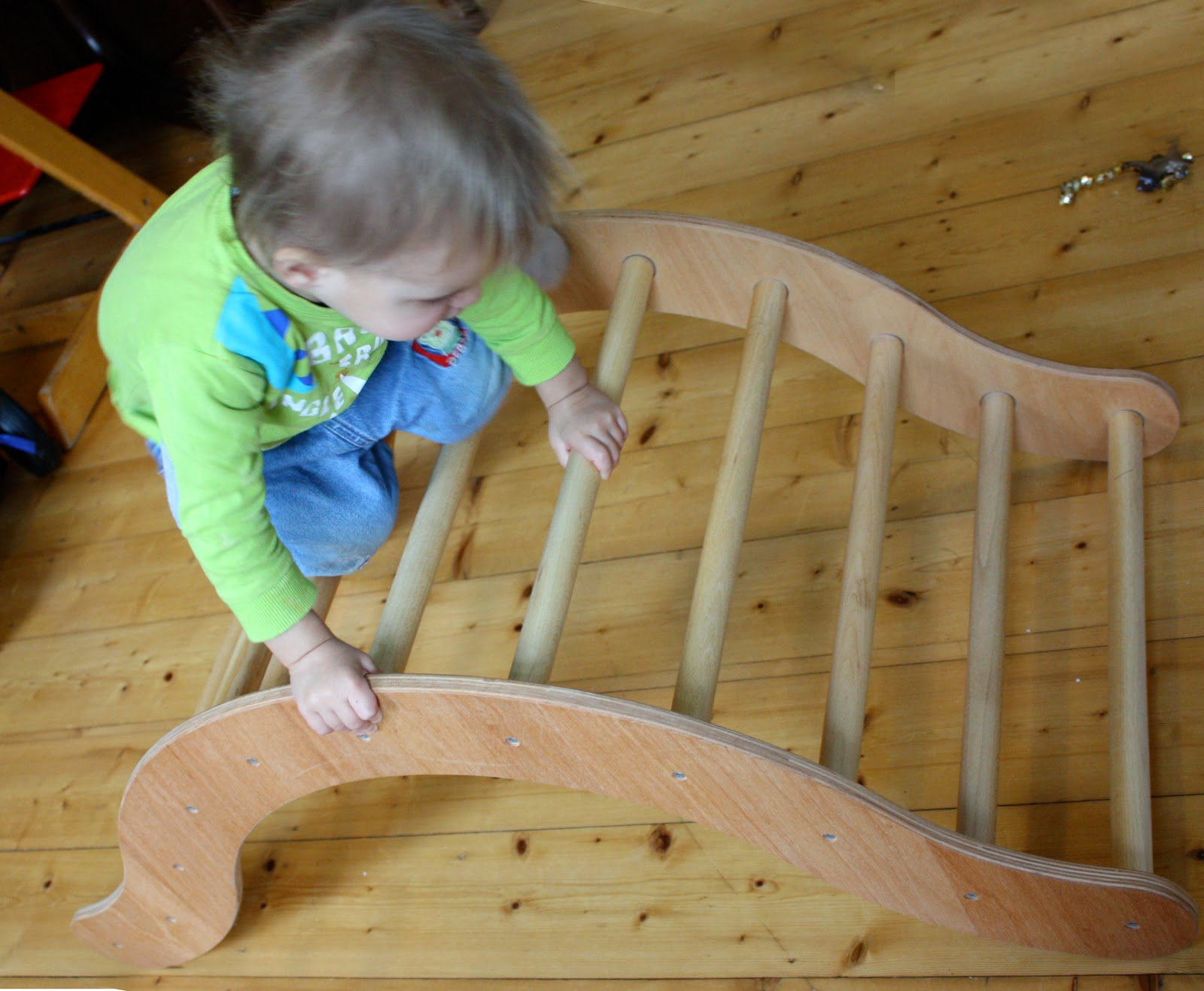 Kletterbogen Rutsche : Mutterfreu n de kletterbogen fürs kletterkind