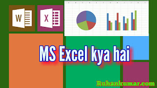 MS Excel kya hai - What is MS Excel in Hindi