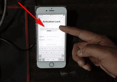 iPhone 6S iCloud Activation Lock Bypass-Unlock ios13.3.1