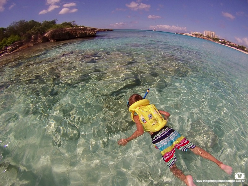 Crianças em St Maarten